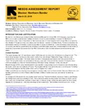 IRC Needs Assessmen Report: Mexico Northern Border (PDF)