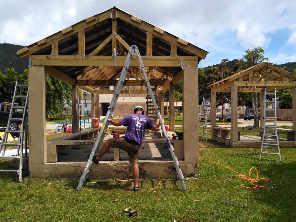 A Volunteer in Puerto Rico