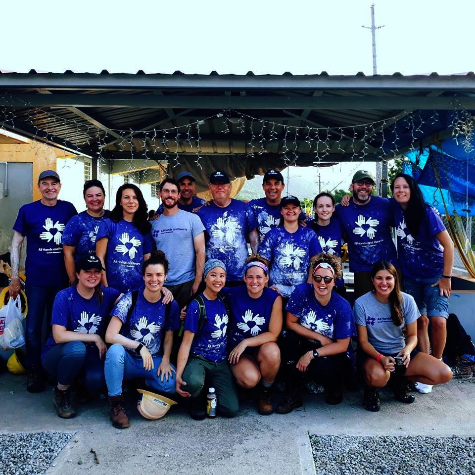 AHAH Management Team Volunteering in Yabucoa