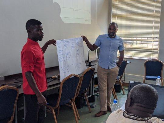 Group presentations