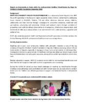 Report on home visits for malnourished families (PDF)