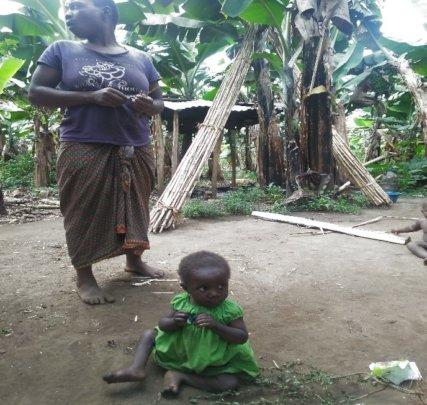 Visiting a malnourished child