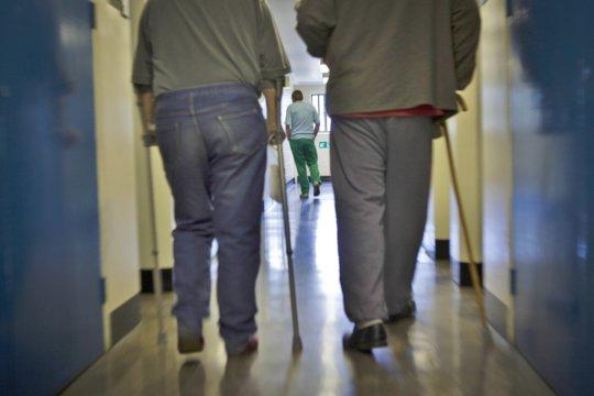Elderly prisoners at HMP Littelhey
