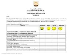 Satisfaction Questionnaire (PDF)