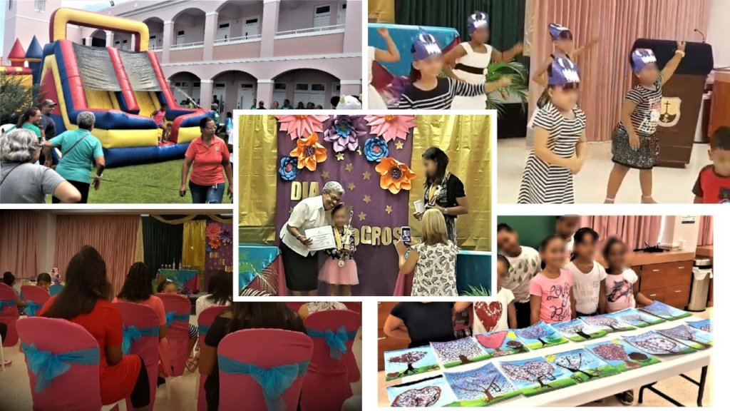 Collage of Acedemic Ceremonies and Summer Camp