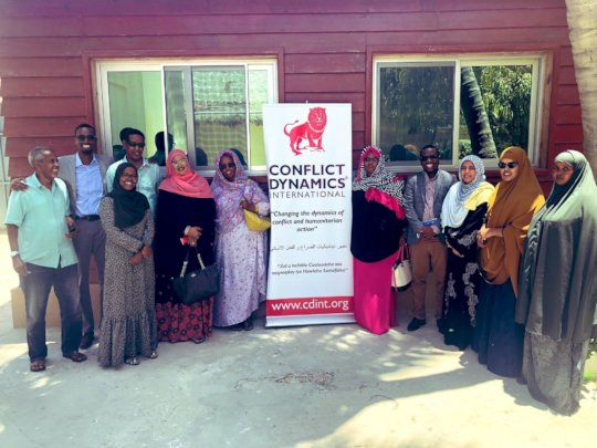 The first visitors to our new Mogadishu office