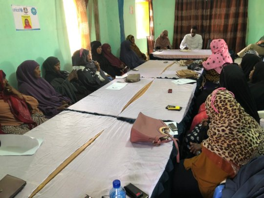 CDI with Mudug Women Peace Committee in Galkacyo