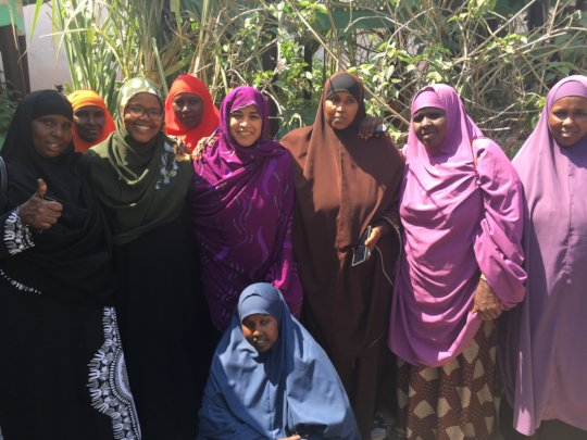 CDI with Kismayo Women  Peace Committee Members