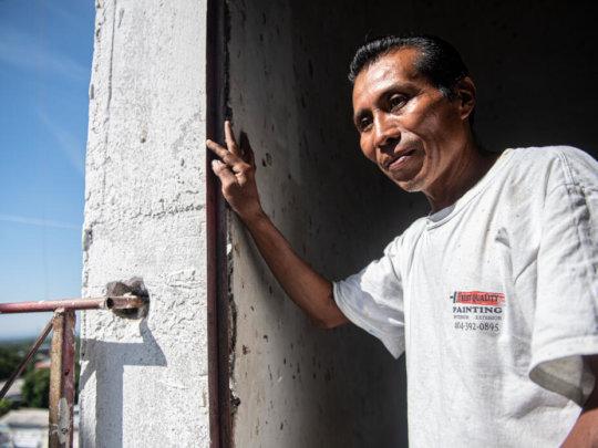 Reynaldo returned to El Salvador via IRC's support