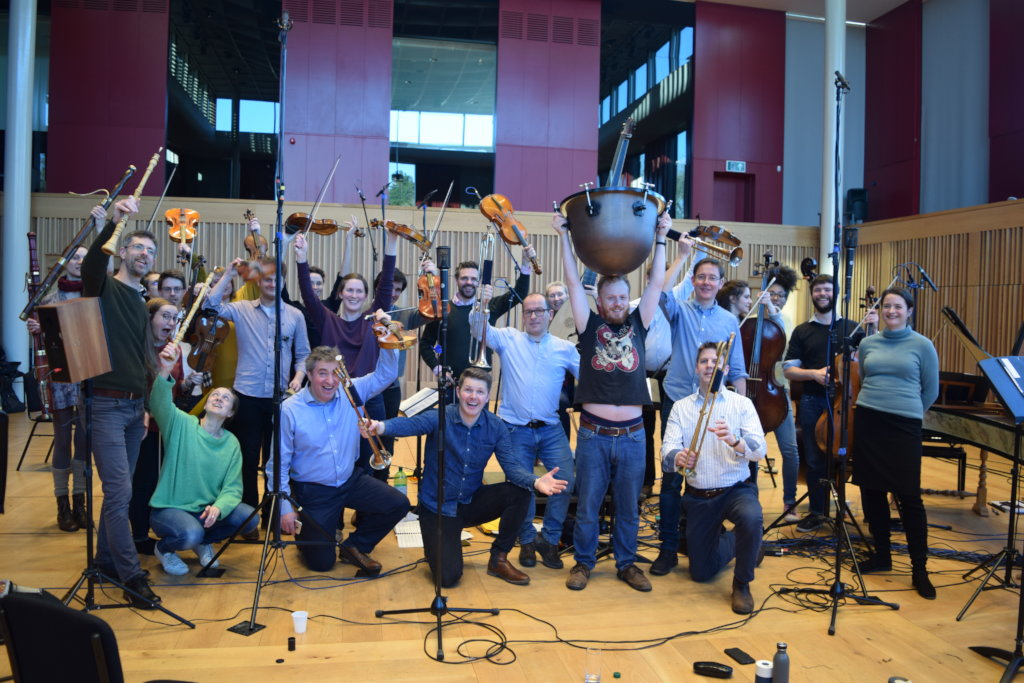 The final day of recording sessions at Cedars Hall
