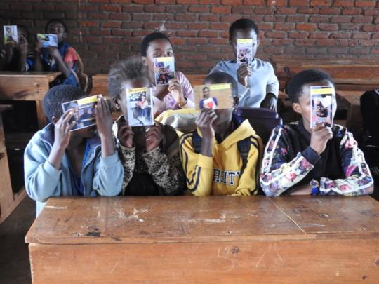 Joy at UNHCR Camp, South Sudan.