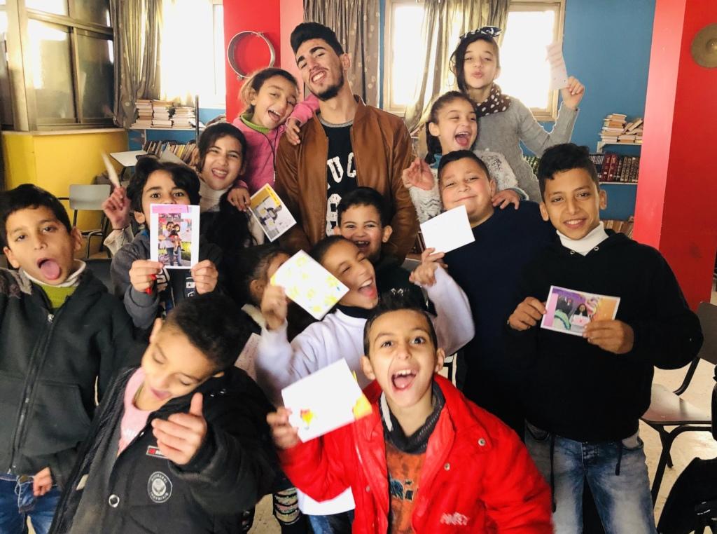 Joy at Balata Youth Group Centre, Palestine.