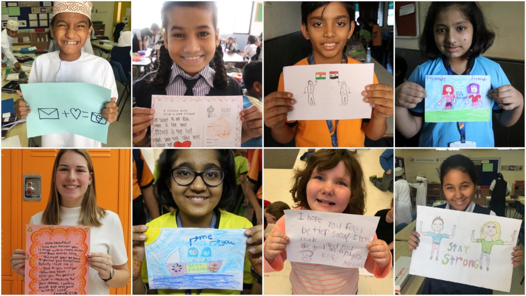 Gift Handwritten Letters to 10000 Refugee Children