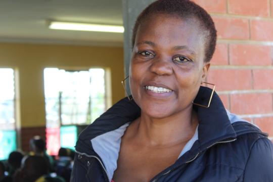 Wonderful Celimfundo teacher Ms Nonhlanhla Majola