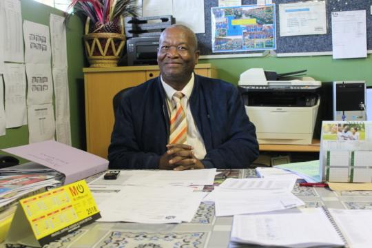 Celimfundo Principal Mr Chris Ndlovu