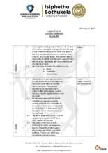Action list August 2019 (PDF)
