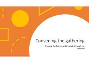 Principals in Community: Convening the Gathering (PDF)