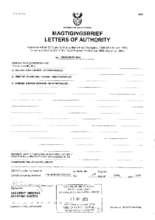 Letters of Authority and Trust Deed (PDF)