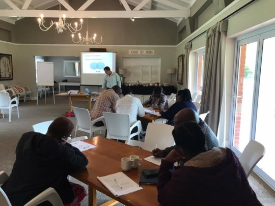 Andrew Stead leads the Principal Workshop 13 March