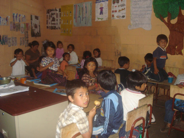 Students at the Chukmuk School