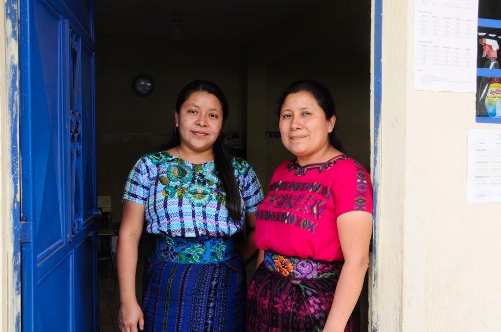 Rebeca and Principal Magdalena