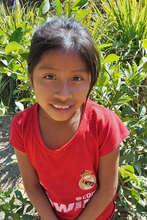 One of our students in Chacaya