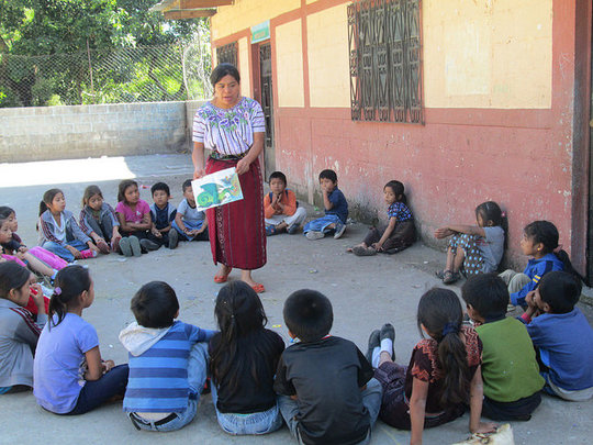 A World of Reading for Maya Children in Guatemala