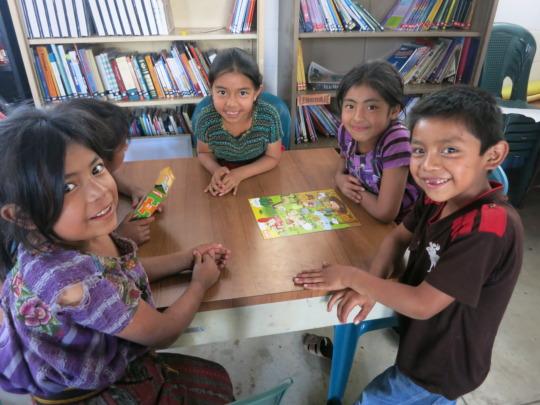 Students at La Cumbre Library
