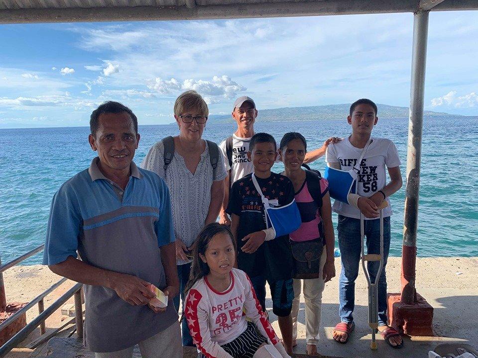 Arrived back home on Negros Island