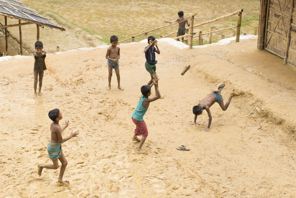 Let Kids Be Kids! Sports Day for Rohingya Children