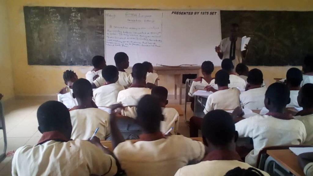 Volunteer Corps Tutoring, Osun State of Nigeria.