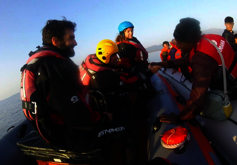 $15K to Rescue Refugees in Peril at Sea in Lesvos