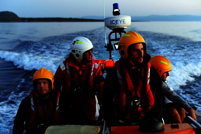 $9000 to Rescue Refugees in Peril at Sea in Lesvos