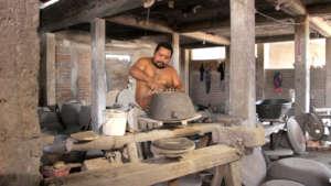 Pottery making in Ixtaltepec