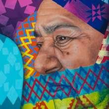 Elba's textile mural