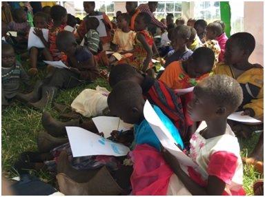 Christmas Celebration for 600 Kids on Mt Elgon