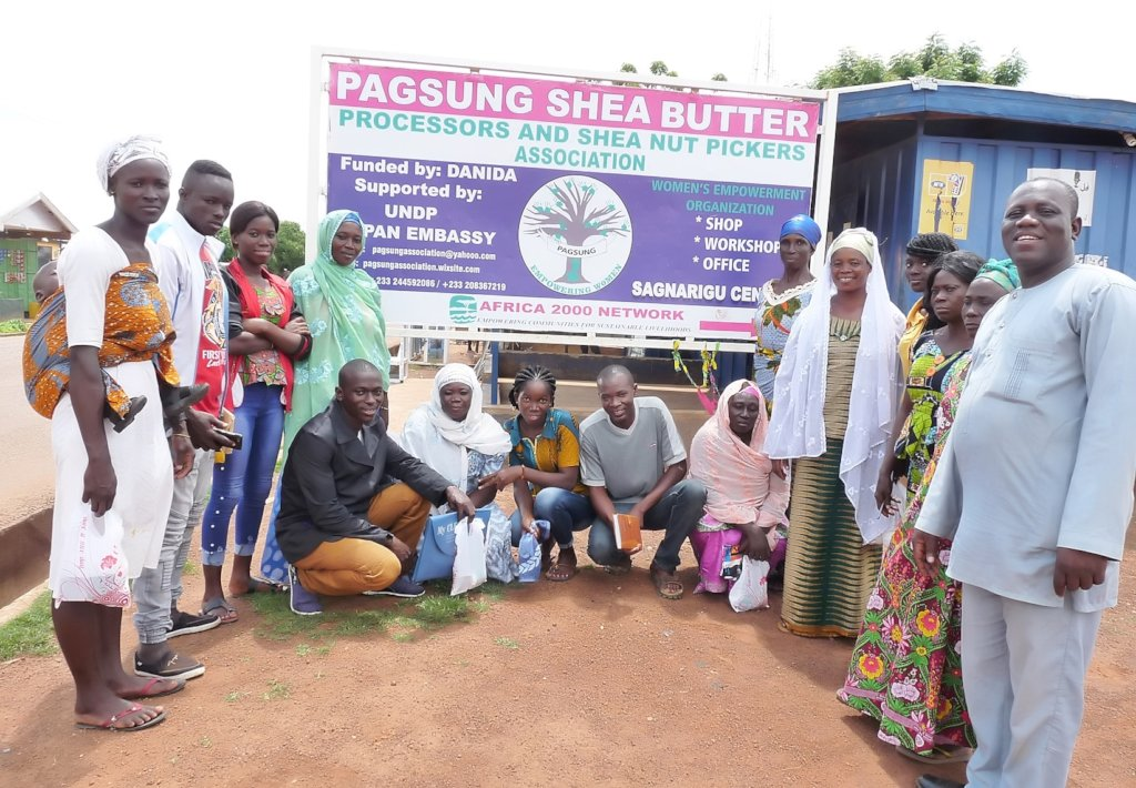 Give Rural Women Group Modern Shea Butter Centre
