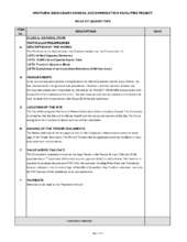 Bill of Quantities and Architectural Plans (PDF)