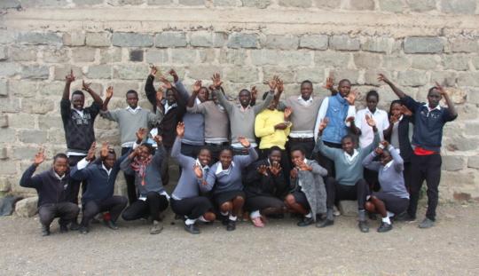 The Children of Mwituria High School