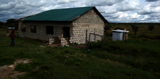 The dormitory at Mwituria High School