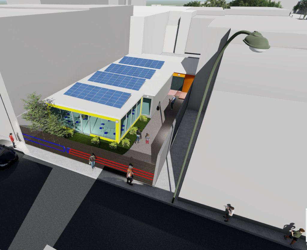 Solar Powered First Response Center in Puerto Rico