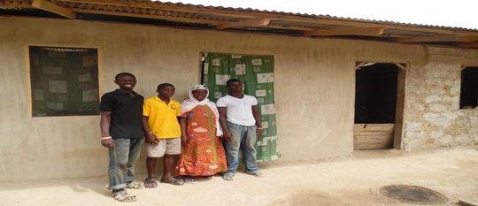 Ayishetu and her three sons