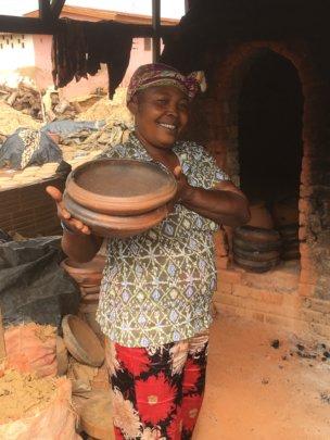 Felicia the pottery maker!
