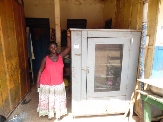 Ama and gas oven purchased with SHI loan