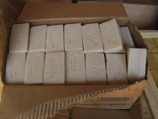 Nokware printed soap
