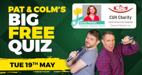 Pat & Colm's Big Free Quiz
