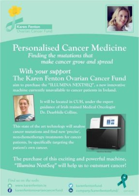 Our poster for Illumina Fundraising