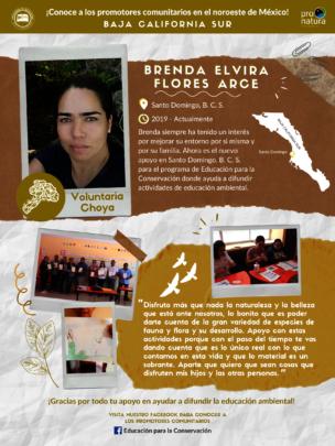 New community outreach leader of Bahia Magdalena.