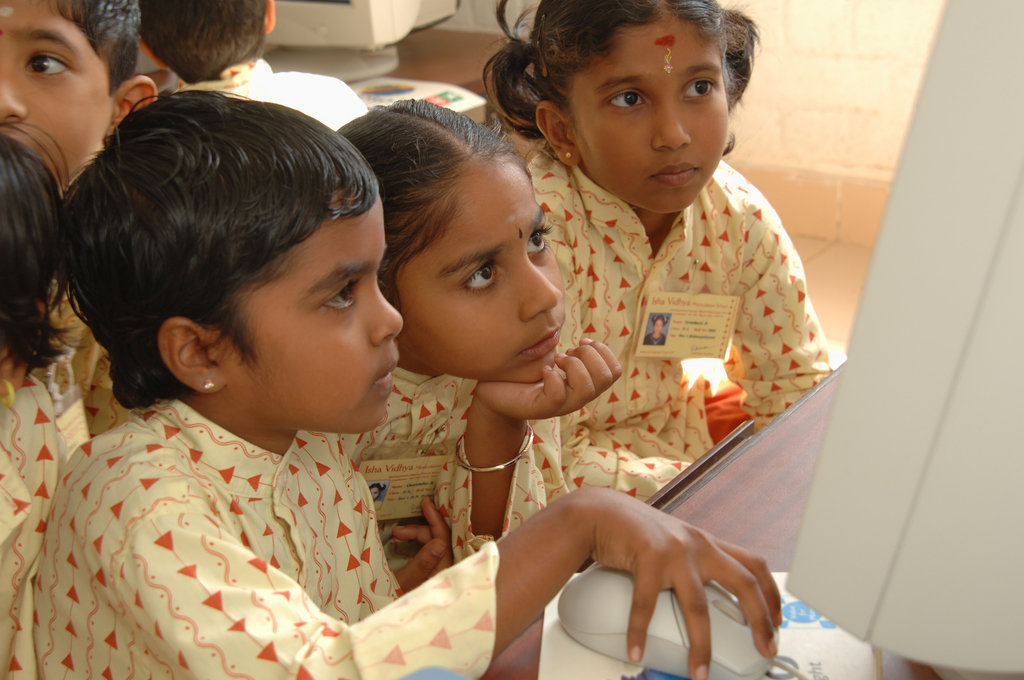 Support a child's education in rural India