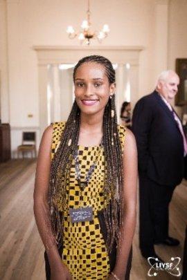 Christa from Rwanda a YoSA scholar at LIYSF 2017